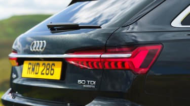 Audi A6 Avant - rear static