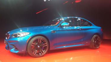 BMW M2 - front quarter show 2