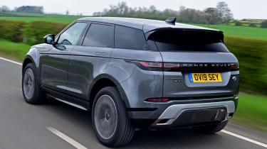 Range Rover Evoque rear tracking