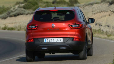 New Renault Kadjar 2015 rear action