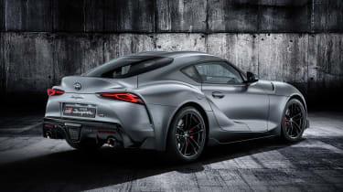 Toyota Supra - grey rear