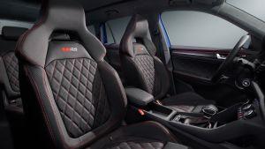 Skoda Kodiaq vRS facelift - front seats