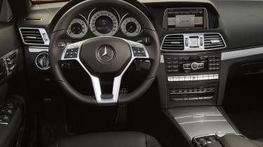 Mercedes E400 Cabriolet interior