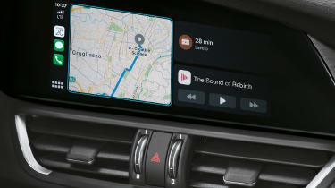 Alfa Romeo Giulia - navigation