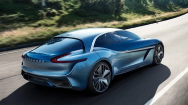 Borgward Isabella concept - rear