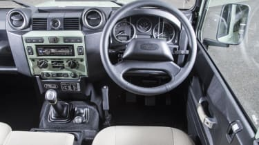 Cool cars: the top 10 coolest cars - Land Rover Defender interior