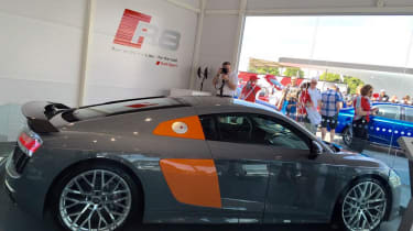 New Audi R8 at Goodwood