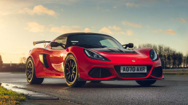 Lotus Exige Final Edition - front static