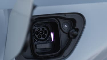 Polestar 2 prototype - charging port