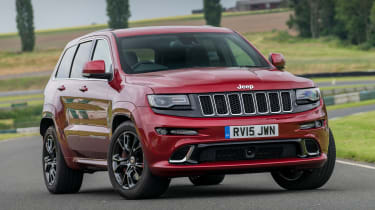 Jeep Grand Cherokee SRT - front static