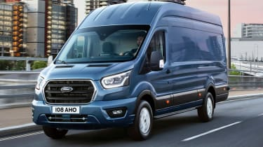 New Ford Transit front