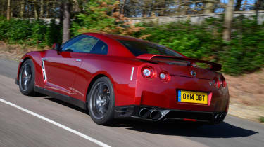 The Nissan is equipped with a 3.8-litre twin-turbo V6 that provides mind boggling acceleration.