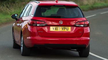 Vauxhall Astra Sports Tourer - rear corner