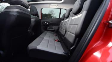 citroen c5 aircross rear seats