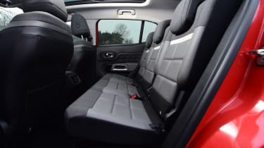 citroen c5 aircross rear seats