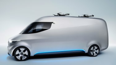 Mercedes Vision Van - official side
