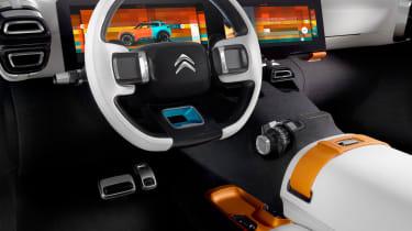 Citroen Aircross concept - dash