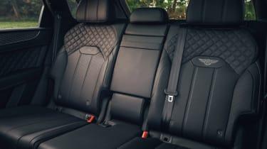 Bentley Bentayga Hybrid - rear seats
