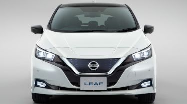 New Nissan Leaf - full front
