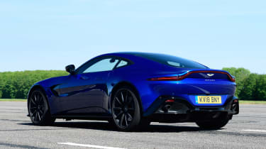 Aston Martin Vantage - rear static