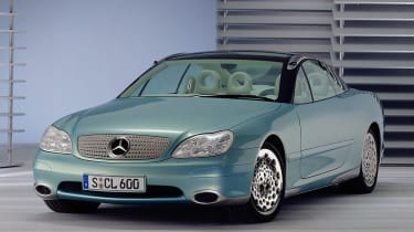 Mercedes F200 - front