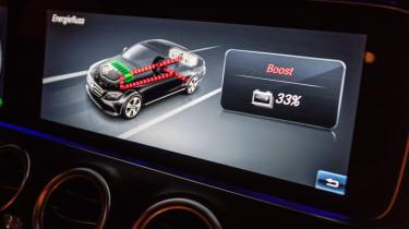 Mercedes E 300 e - screen
