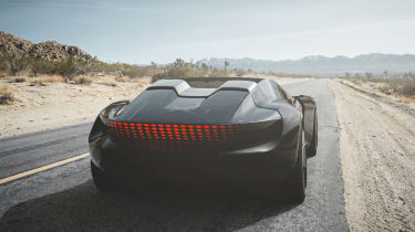 Audi skysphere concept - road