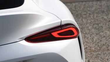 Toyota Supra - rear detail