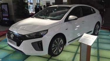 Hyundai Ioniq - Korea front quarter 2