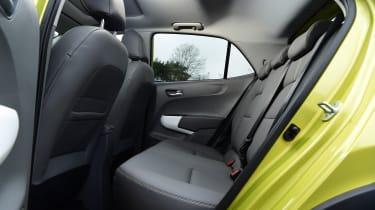 Kia Picanto - rear seat
