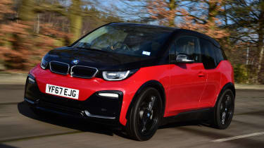 BMW i3s - front