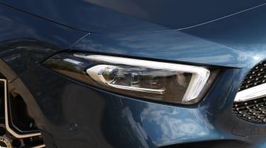 Mercedes A-Class - headlight