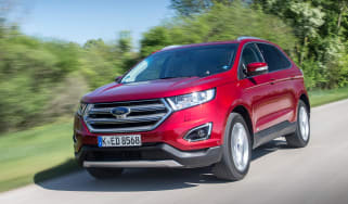Ford Edge Titanium 2016 - front tracking 3