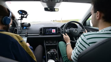 Skoda Karoq road trip - driving
