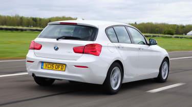 BMW 1 Series - rear tracking