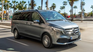 Best cars with sliding doors - V-Class