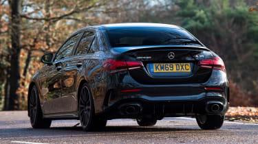 Mercedes-AMG A 35 Saloon - rear cornering