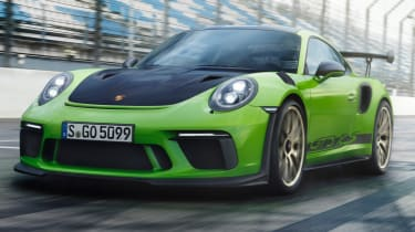 New Porsche 911 GT3 RS lead