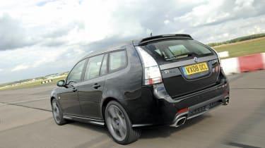 Saab rear