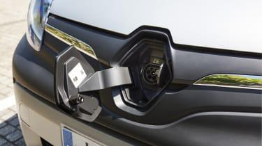 Renault Kangoo Z.E. - charging port