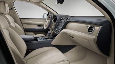 Bentley Bentayga PHEV - front seats