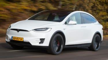 Fastest SUVs in the world - Tesla Model X
