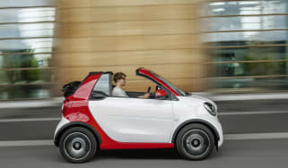 Smart ForTwo Cabrio - roof off