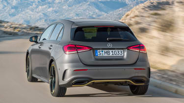 New Mercedes A-Class - rear action