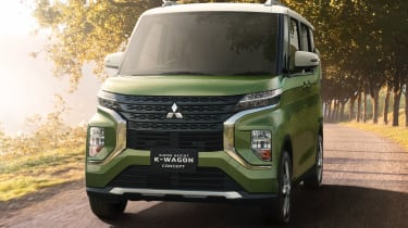 Mitsubishi Super Height K-Wagon concept - full front
