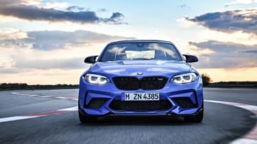 BMW M2 CS - full front action