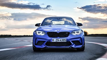 BMW M2 CS - full front action