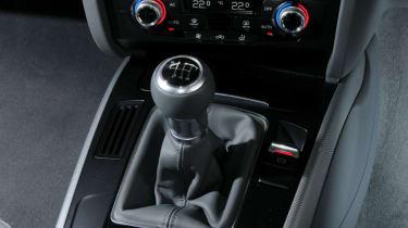Audi A4 TDIe centre console
