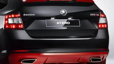 Skoda Atero rear detail