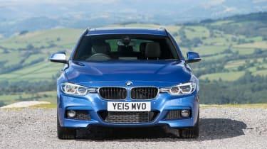 BMW 3 Series Touring - nose